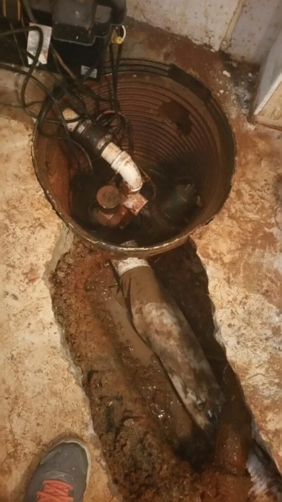 Mora Services Sump Pump Installation